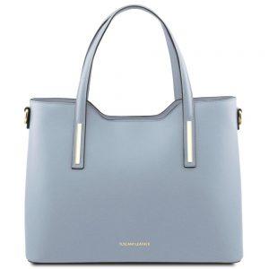 Елегантна кожена чанта TL141412-03
