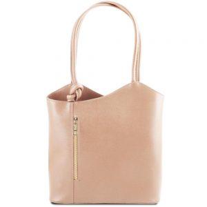 Елегантна кожена чанта TL141455-05