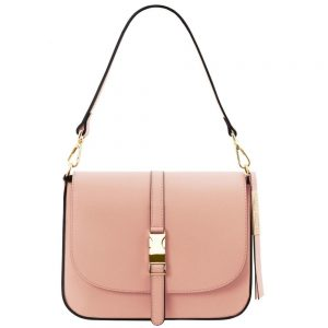 Елегантна кожена чанта TL141598-03