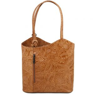 Елегантна кожена чанта TL141676-02