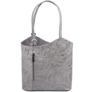 Елегантна кожена чанта TL141676-03