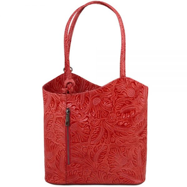 Елегантна кожена чанта TL141676-06