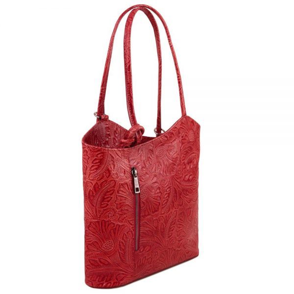 Елегантна кожена чанта TL141676-11
