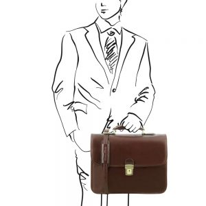 Бизнес куфар с калъф за лаптоп VERNAZZA TL141354-04
