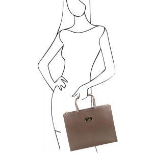 Дамска бизнес чанта TL141369-05