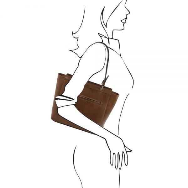 Дамска чанта с две дръжки TL141231-03