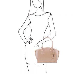 Дамска кожена чанта DIANA TL141643-05