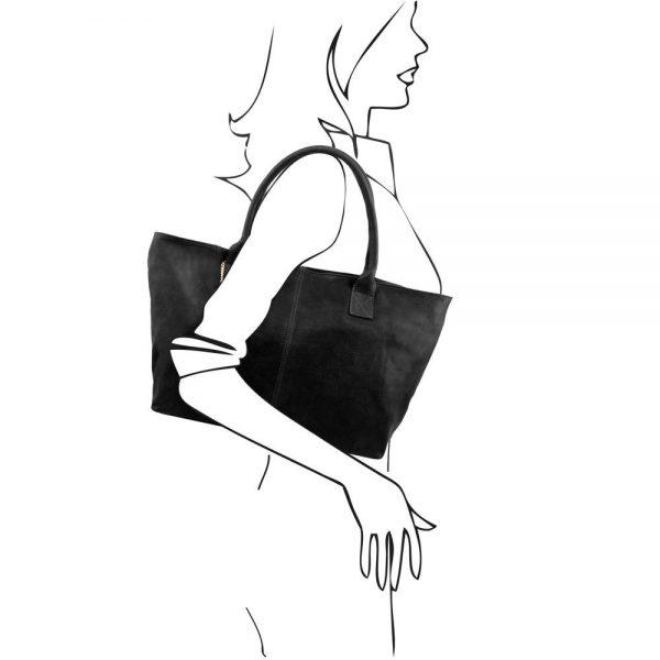 Дамска кожена чанта TL141207-05