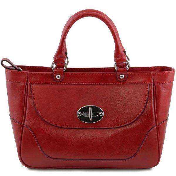 Дамска кожена чанта TL141226-02 — Avenue Multi Brand