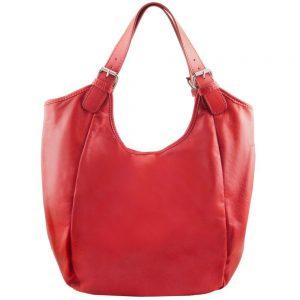 Дамска кожена чанта TL141357-03