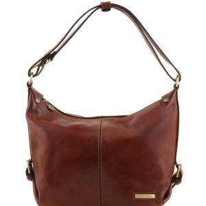 Дамска кожена чанта TL141479-05