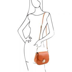 Дамска кожена чанта TL141517-03
