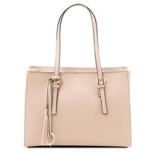 Дамска кожена чанта TL141518-07