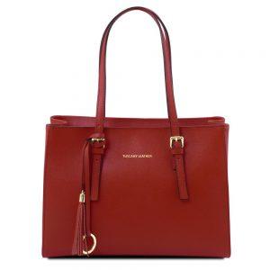 Дамска кожена чанта TL141518-08