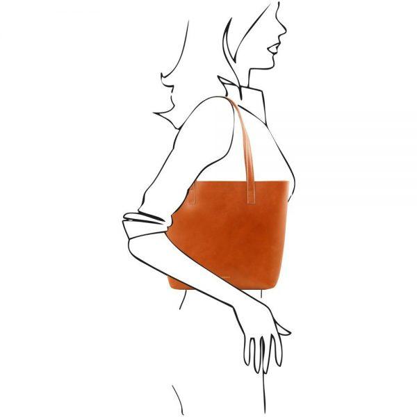 Дамска кожена чанта TL141612-03