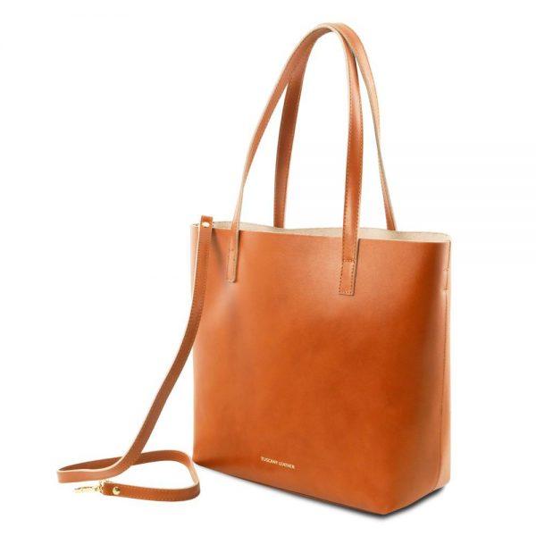 Дамска кожена чанта TL141612-04