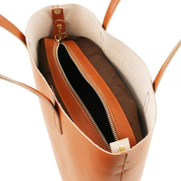 Дамска кожена чанта TL141612-05