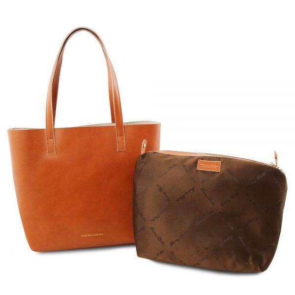 Дамска кожена чанта TL141612-07