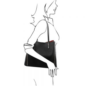 Дамска кожена чанта TL141624-02