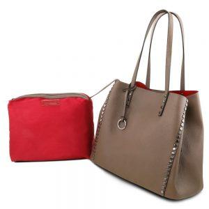 Дамска кожена чанта TL141624-06
