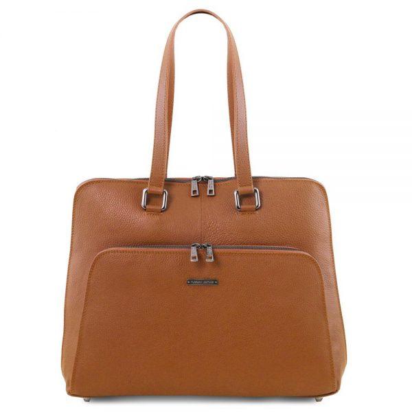 Дамска кожена чанта TL141630-02