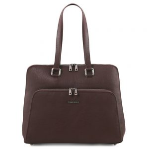 Дамска кожена чанта TL141630-09