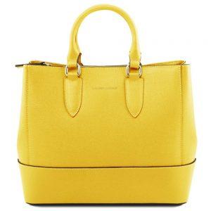 Дамска кожена чанта TL141638-02