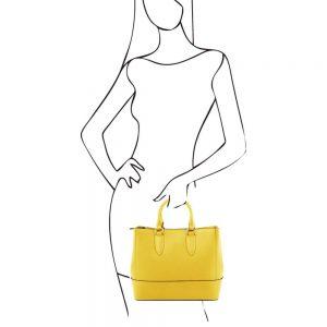 Дамска кожена чанта TL141638-03