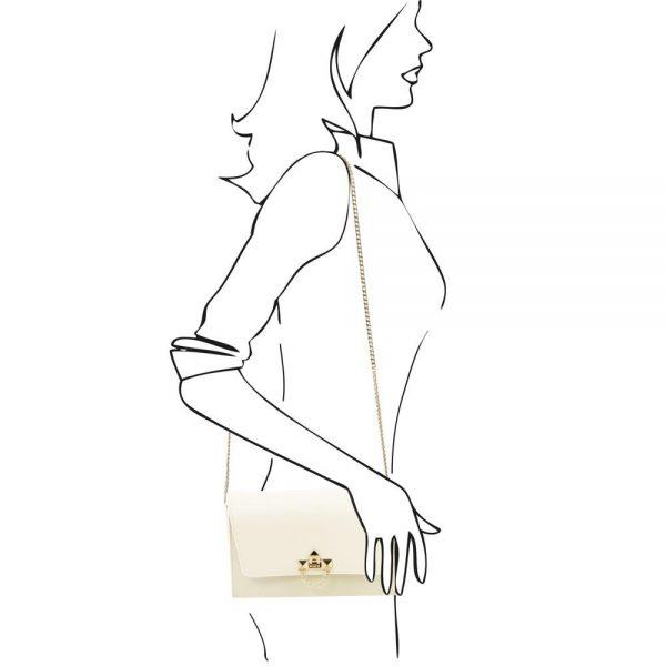 Дамска кожена чанта TL141653-02