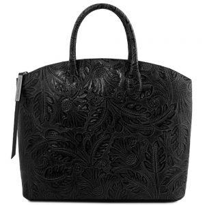 Дамска кожена чанта TL141670-01