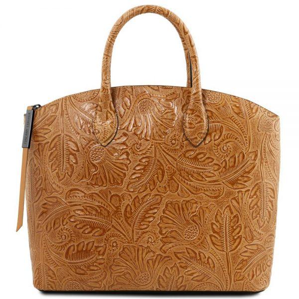 Дамска кожена чанта TL141670-04