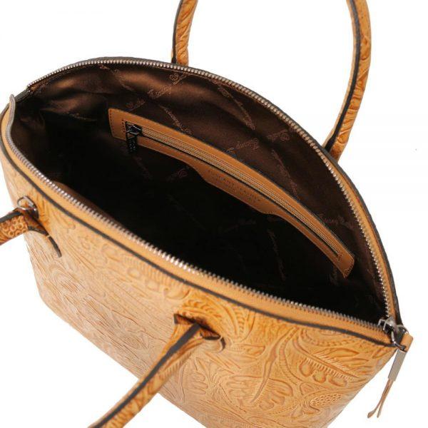 Дамска кожена чанта TL141670-06
