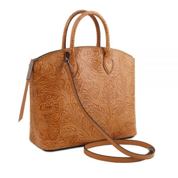 Дамска кожена чанта TL141670-07