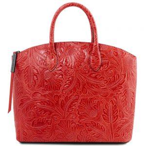 Дамска кожена чанта TL141670-10