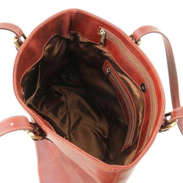 Дамска кожена чанта TL141710-04