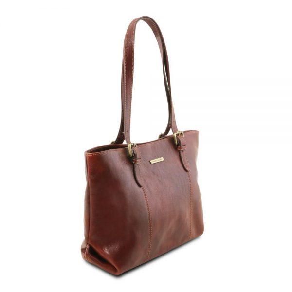 Дамска кожена чанта TL141710-05