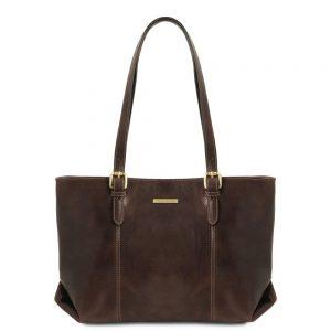 Дамска кожена чанта TL141710-08