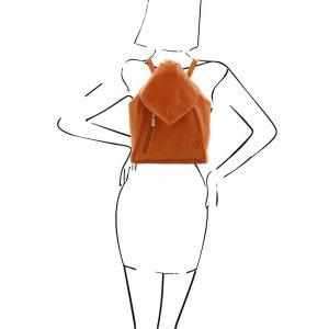 Дамска кожена раница DELHI TL140962-04