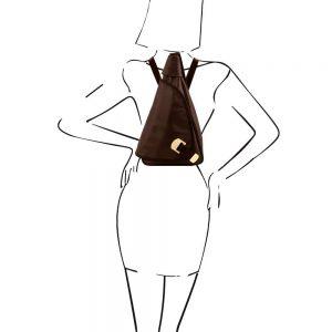Дамска кожена раница HANOI TL140966-10