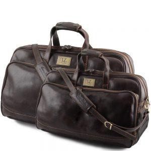 Комплект кожени пътни чанти BORA BORA travel set TL3072-06