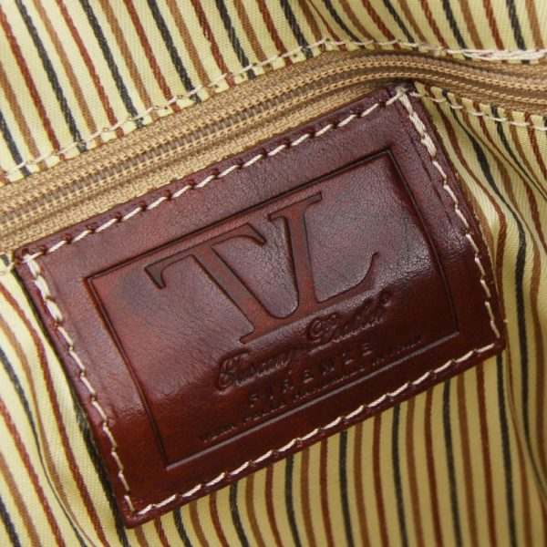 Комплект пътни кожени чанти BERLIN travel set TL10175-04