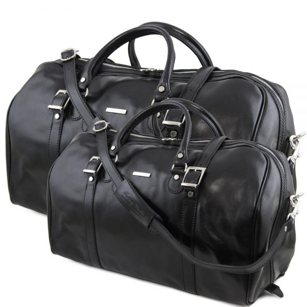 Комплект пътни кожени чанти BERLIN travel set TL10175-06