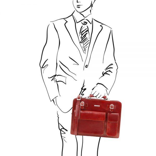 Кожен куфар VENEZIA TL141268-04
