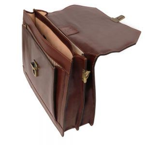 Кожена бизнес чанта NAPOLI TL141348-02