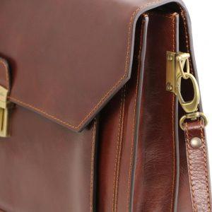 Кожена бизнес чанта NAPOLI TL141348-03 — Avenue Multi Brand
