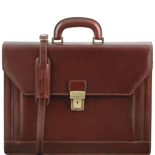 Кожена бизнес чанта NAPOLI TL141348-05