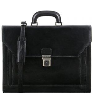 Кожена бизнес чанта NAPOLI TL141348-06