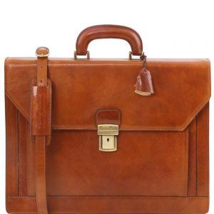 Кожена бизнес чанта NAPOLI TL141348-07