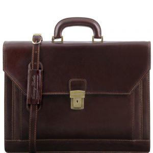 Кожена бизнес чанта NAPOLI TL141348-08