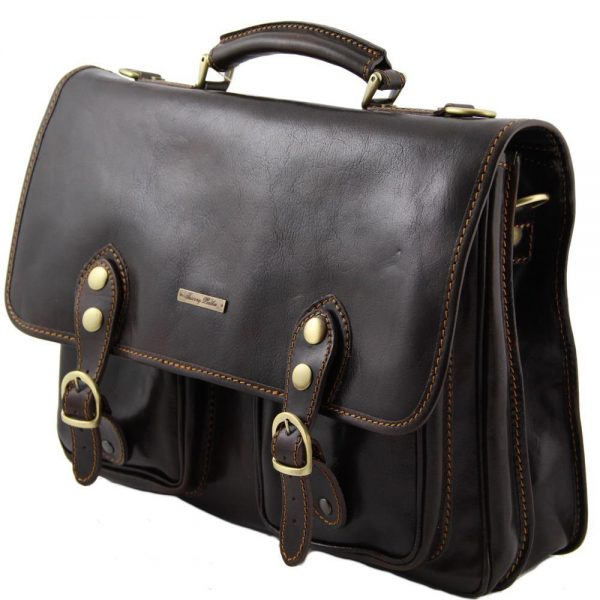 Кожена чанта MODENA TL141134-02